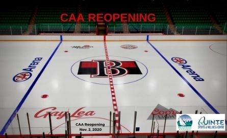 ice surface in arena