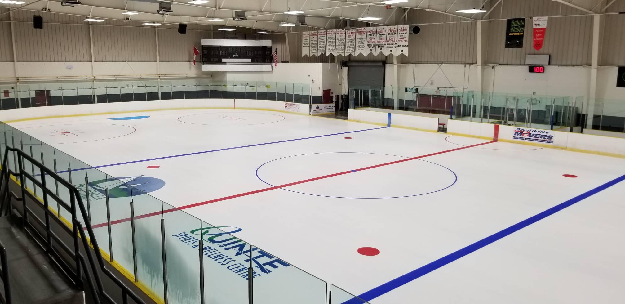 Ice at Wally Arena